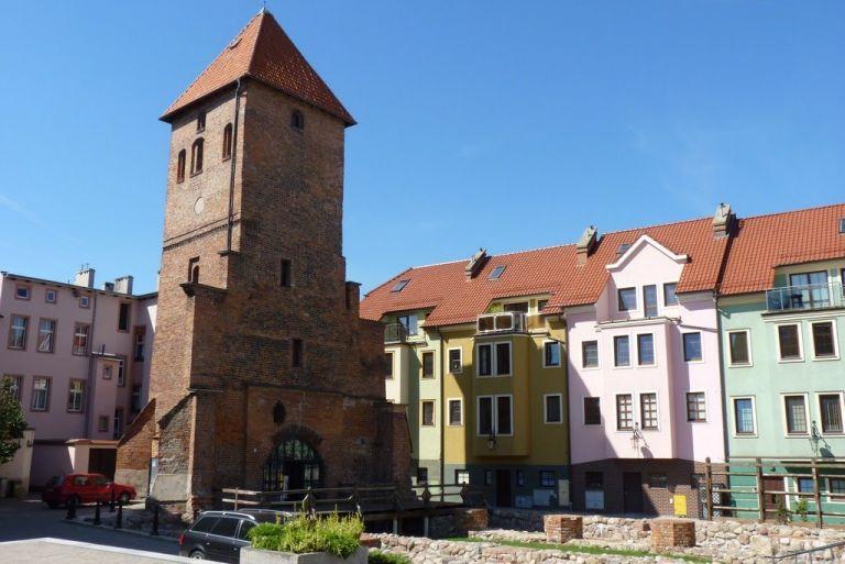 Wieża starego kościoła św. Katarzyny